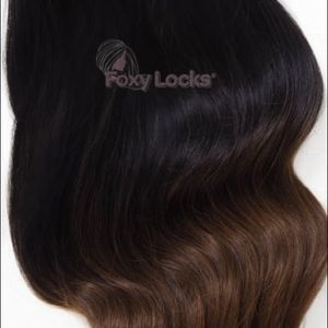 Other - Brand New! 7 piece clip in Remy Extensions!